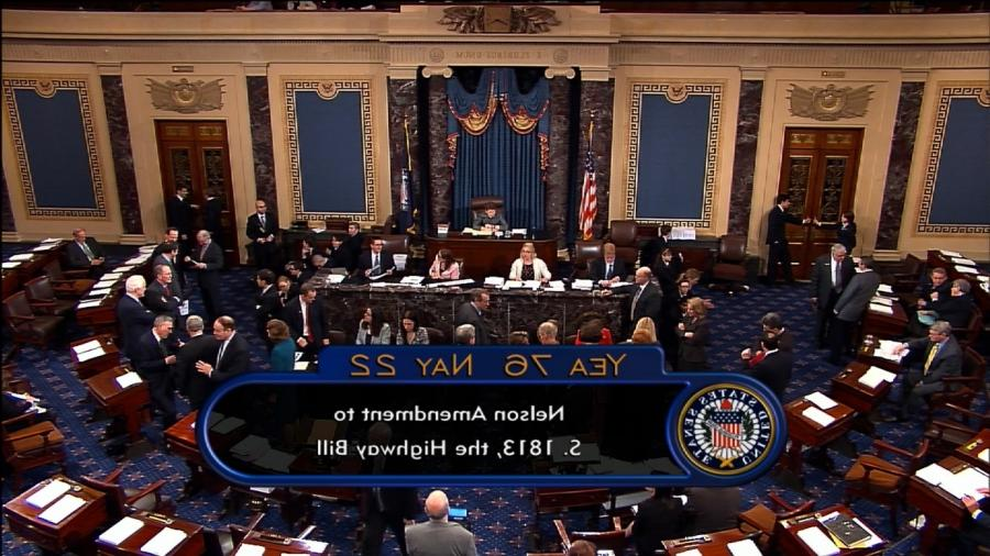 With a 76 - 22 vote, Senate adopts RESTORE Act amendment