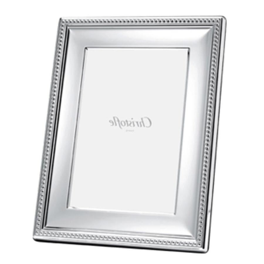 7 Silver Digital Photo Frame With Glass