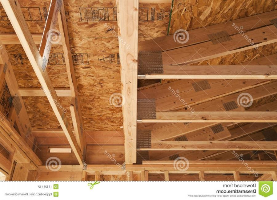 Wooden or timber ceiling