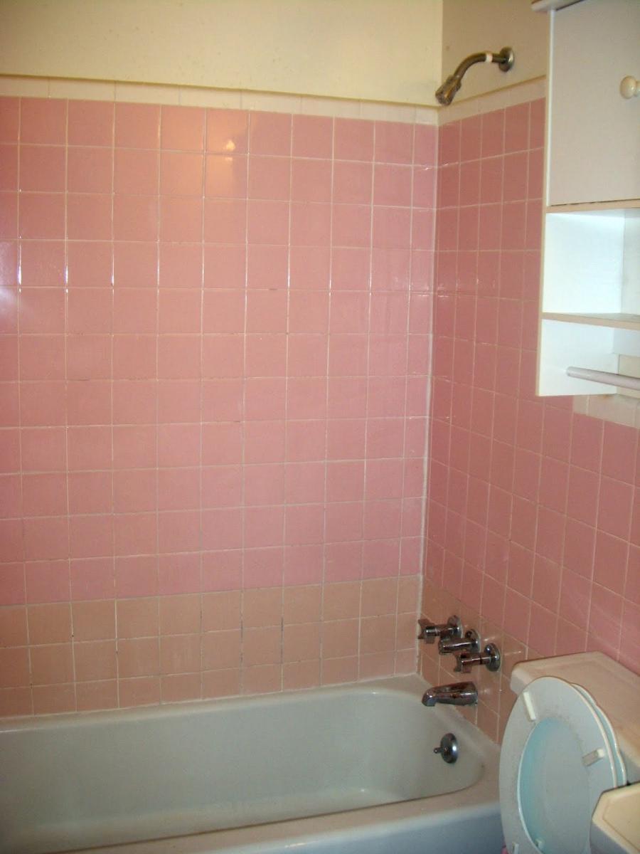 Pink Tile Bathroom Photos