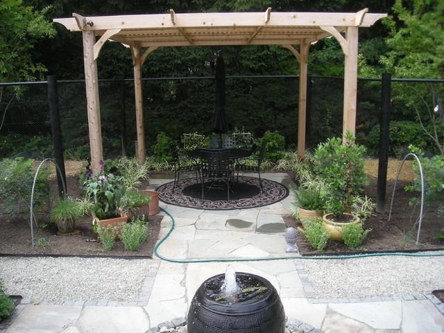 Back yard terrace photo for Terrace vegetable garden