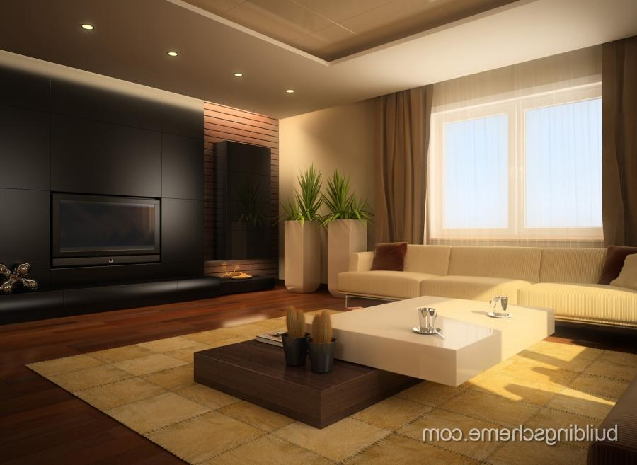 Living Room : Modern Interior Designs For Living Rooms With...
