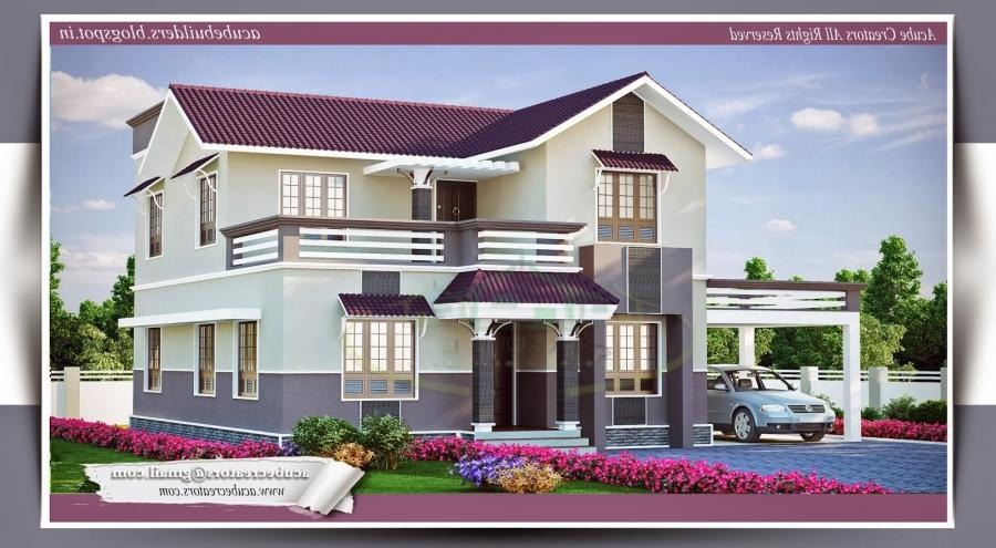 below 1000 sq ft 2 floor plan kerala style in 3 cents