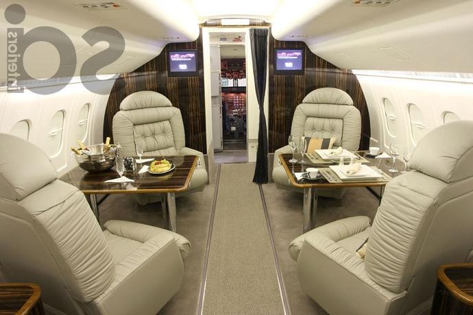 Interior Of Aircraft Photos