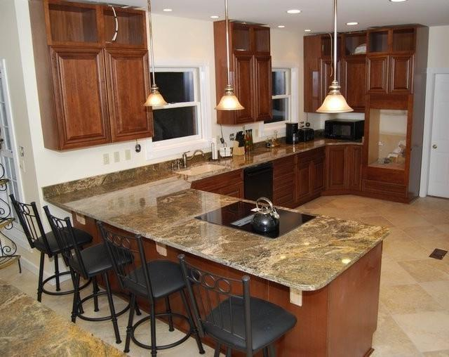 MZANSI GRANITE modern-kitchen-islands-and-kitchen-carts