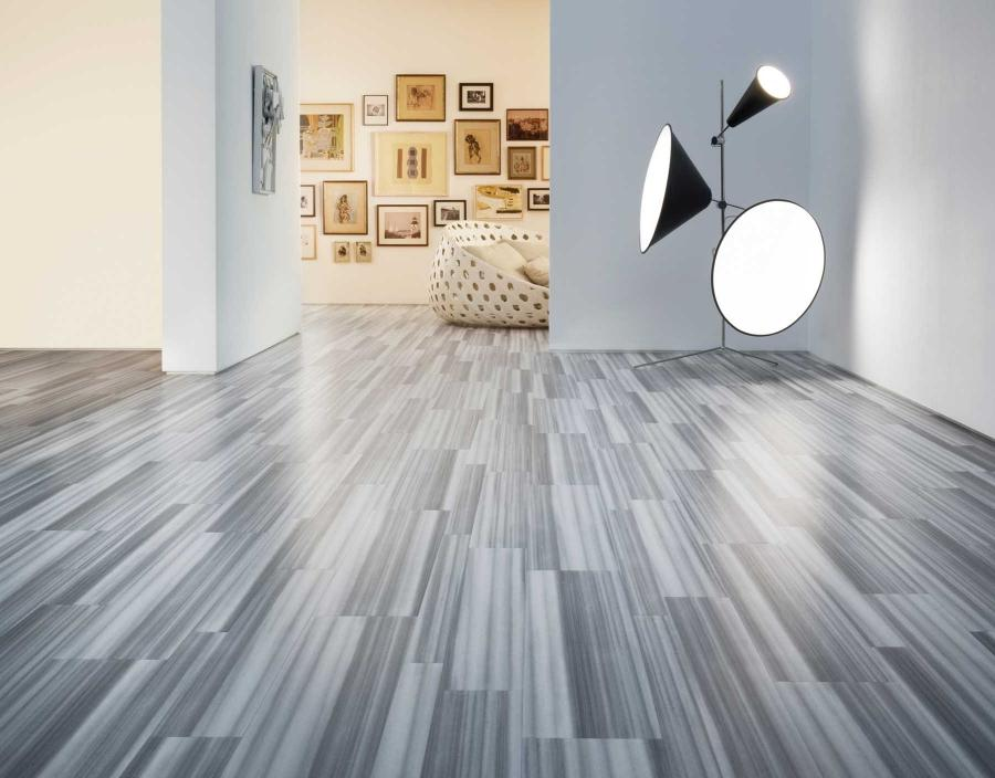 ... Engineered wood flooring in a art gallery supplied by Inspire...