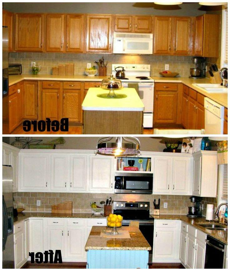 Kitchen remodeling on a budget photos for Remodeled kitchens on a budget