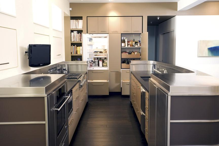 ... kitchen remodel galley style ...