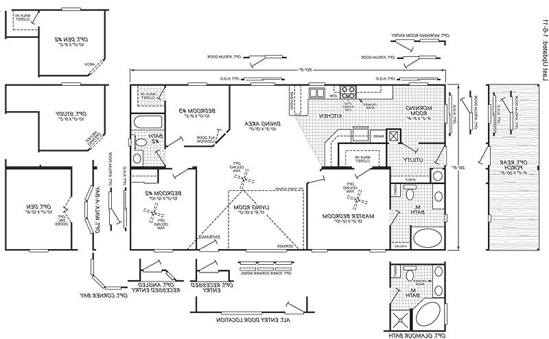 clayton mobile home floor plans photos