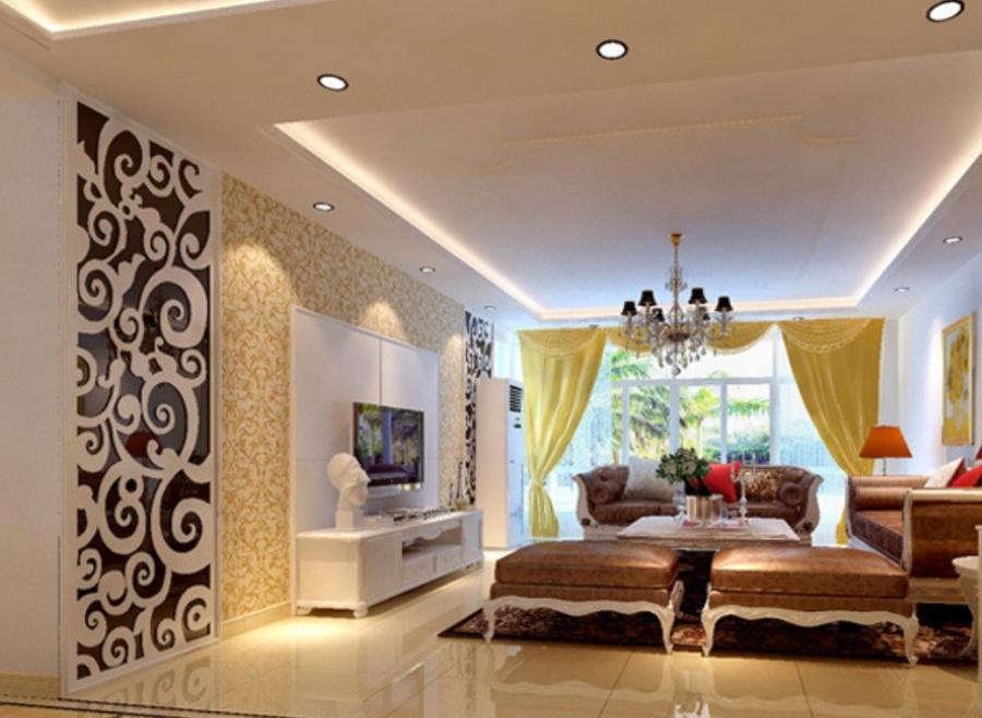Living room false ceiling photos - Living room ceiling tiles ...