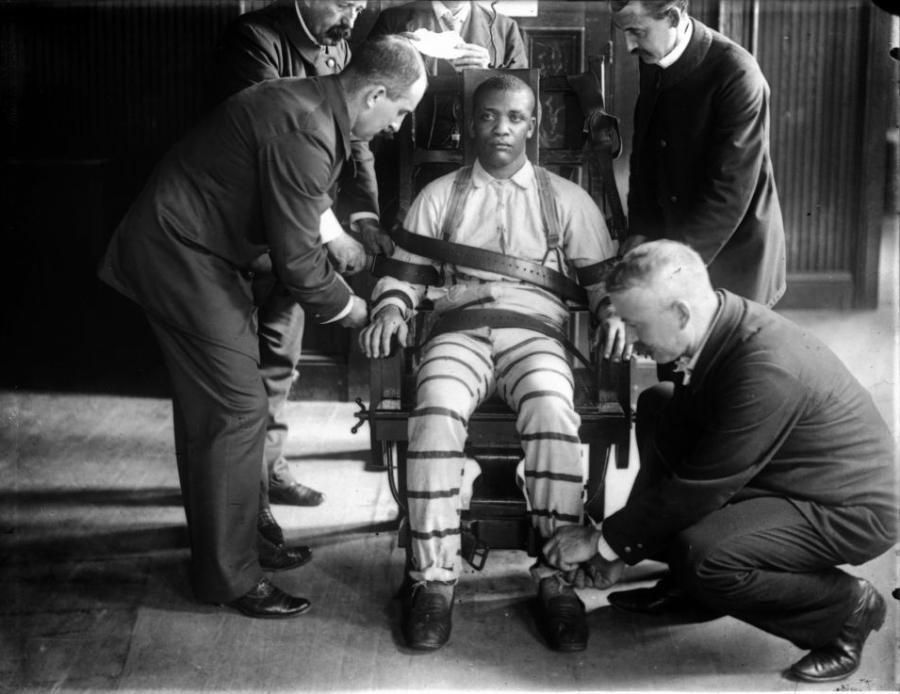 the electric chair a source of execution used by the state of florida Old sparky: the shocking history of the electric could state use of the electric chair was phased out by form of execution in alabama, florida.