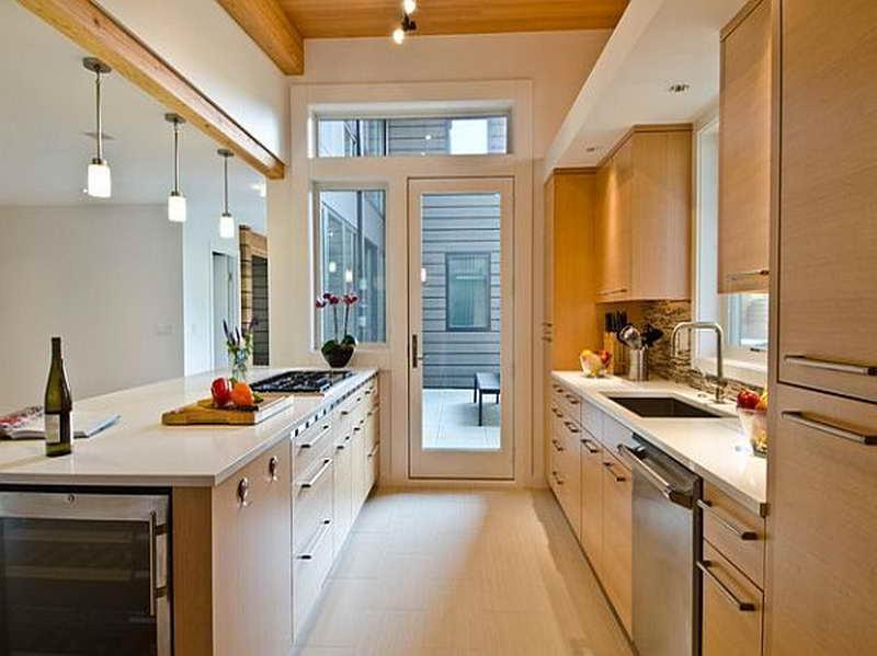Kitchen remodel galley kitchen photos for Ranch galley kitchen remodel
