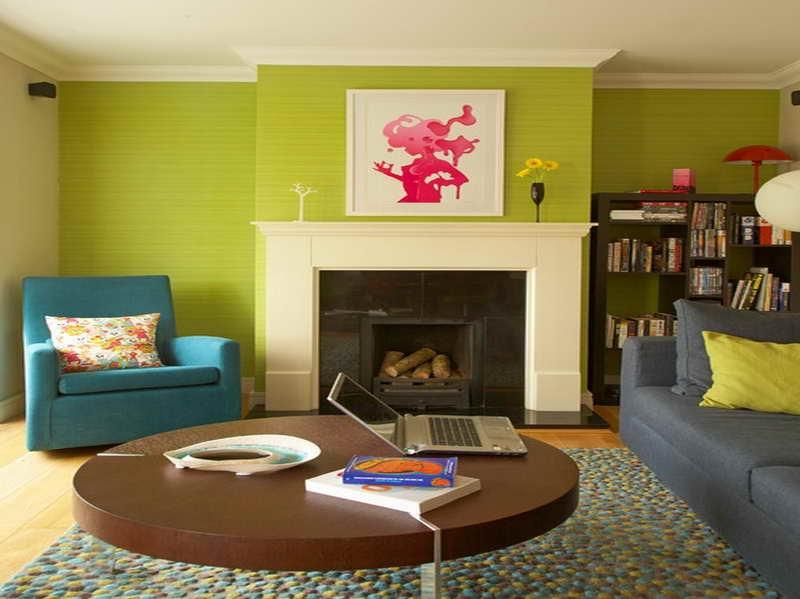 Lime green living room photos for Lime green living room ideas