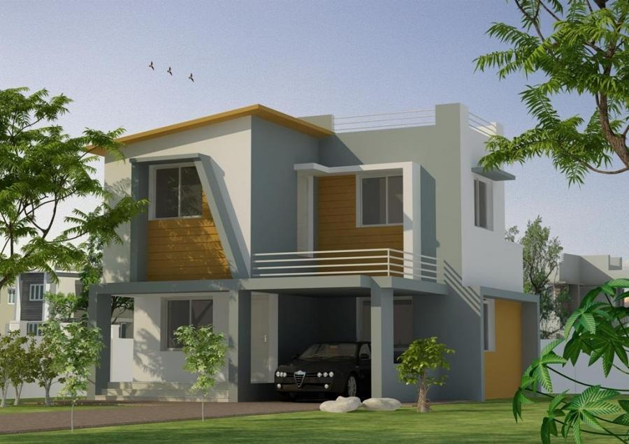 Simple house elevation photos