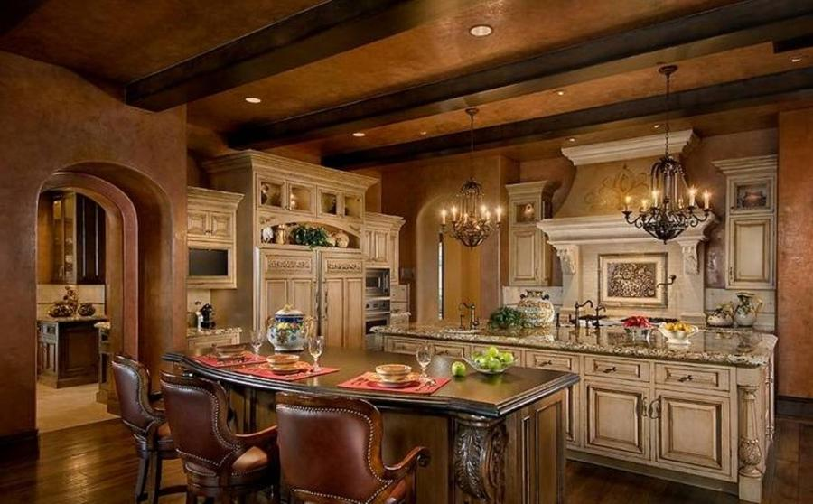 Old world style kitchens photos Old world tuscan kitchen designs