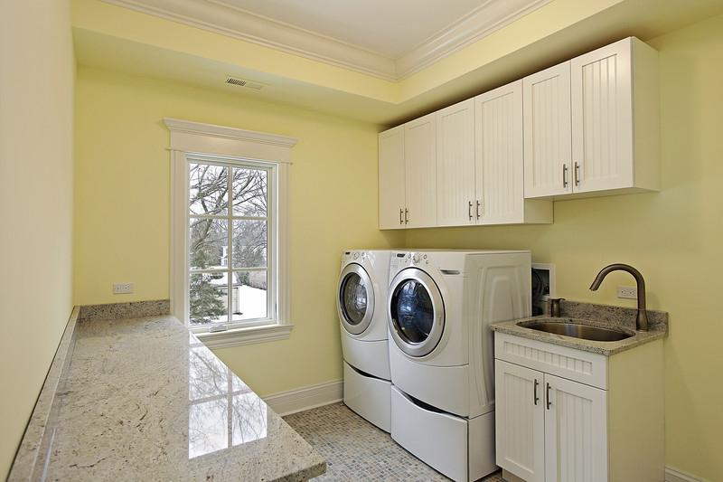 Finished Laundry Room Photos