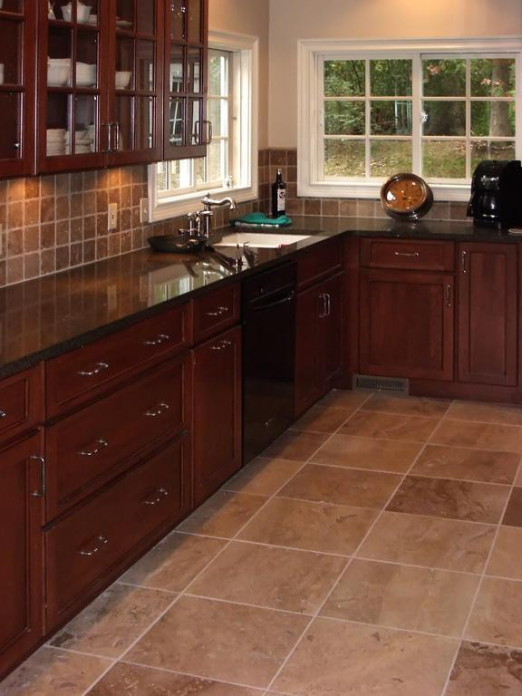 Kitchen Floor Tiles Examples