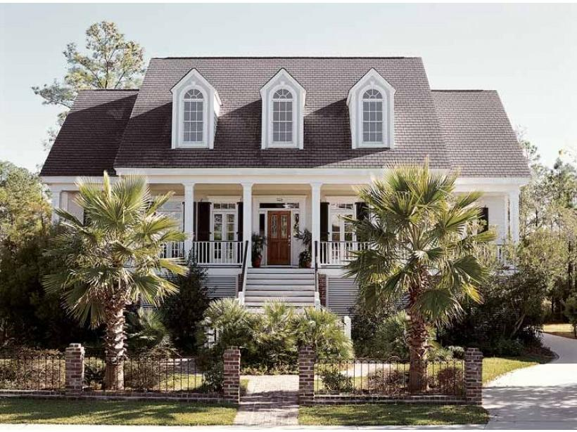 Low country house plans with photos for Low country house
