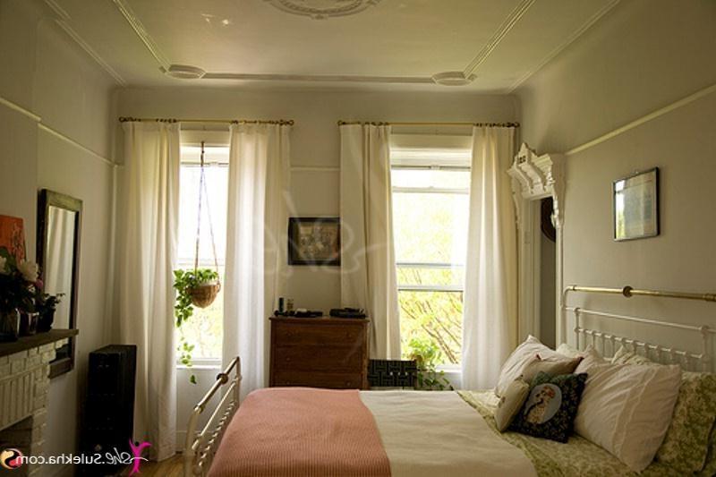 Captivating Purple Gray Master Bedroom