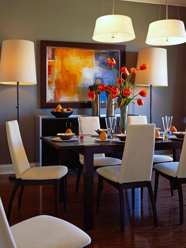 Colors in dinning room photos Home garden television