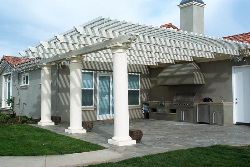 corbel pergola columns exterior house decorative exterior