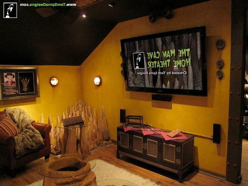 Cave Custom Home Cinema Home Theater Media Room And Movie Homivo