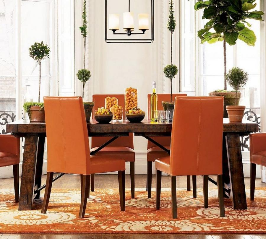 Photos of different ways to decorate a dinng room for Vintage dining room decorating ideas