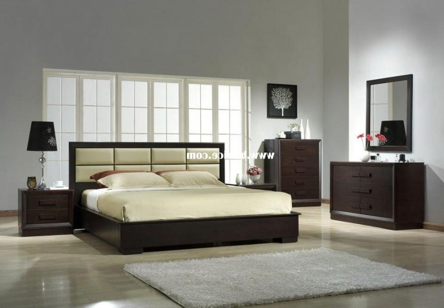 Elegant Boston Modern Bedroom Decoration Furniture Pic With...