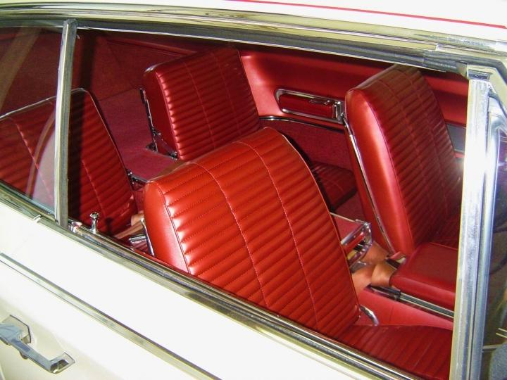 The interior of this custom bodied Speedstar Roadster, hand...