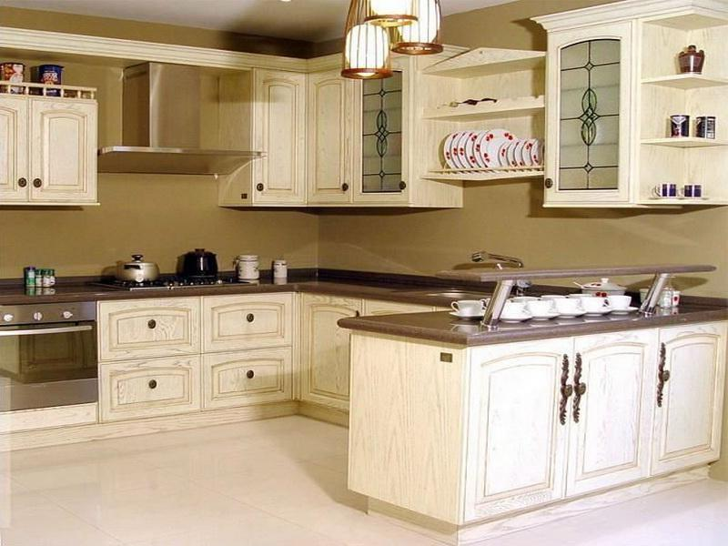 Antique kitchen cabinet photos for 9x9 kitchen ideas