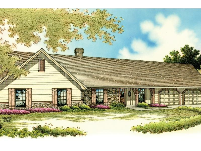 Rustic ranch house plans with photos for Rustic ranch house plans