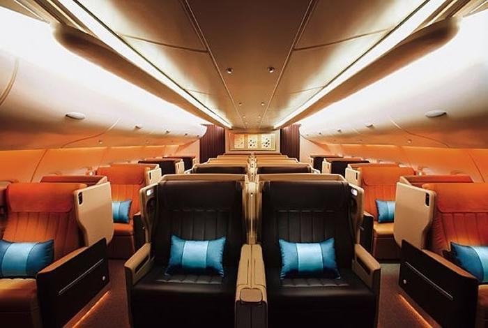 Interior photos of airbus a380 for Airbus a380 interior