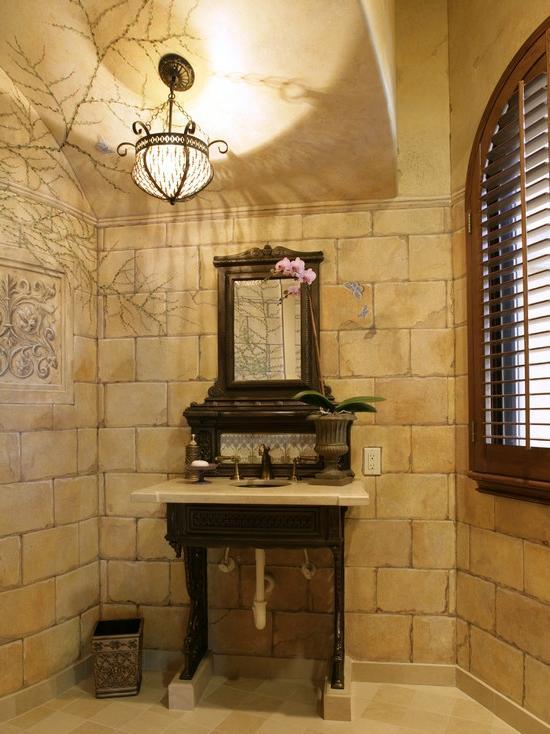 Tuscan Style Bathroom Photos