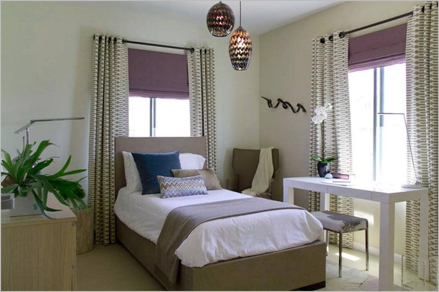 ... Inspirations Chic Window Curtain Bedroom For Decorations...