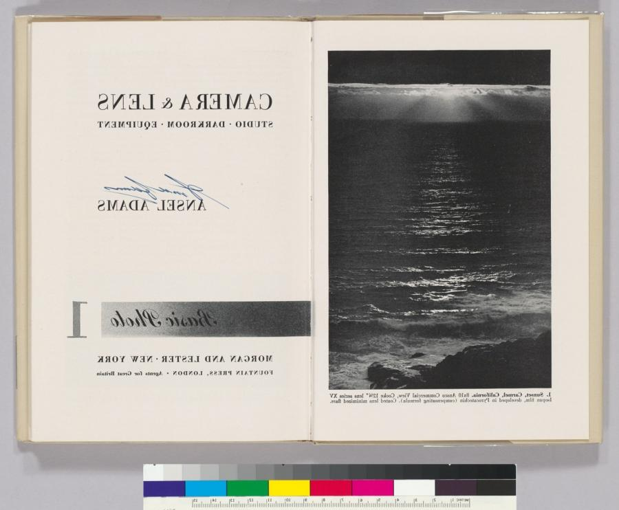 Ansel Adams was a master of photographic technique and published...