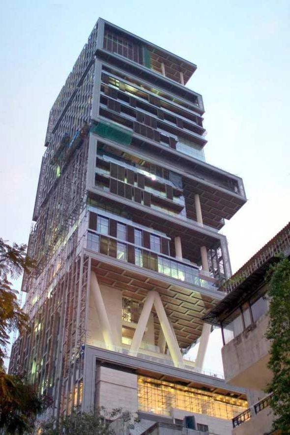 Photos Of Mukesh Ambani House