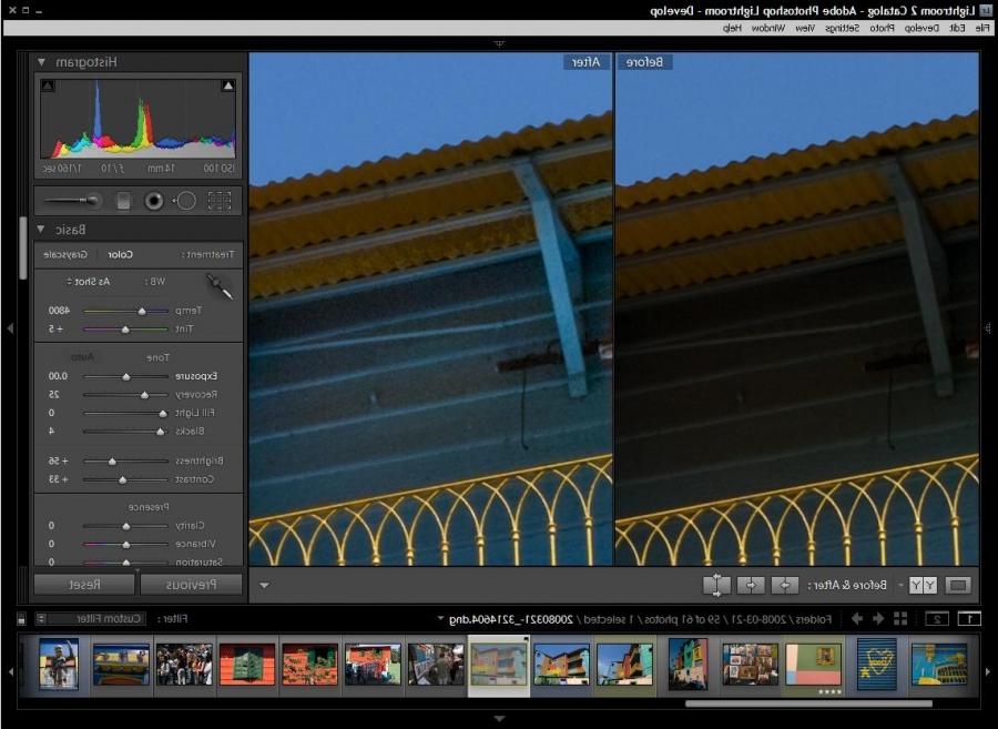 Lightroom 2u single biggest change is the ability to selectively...
