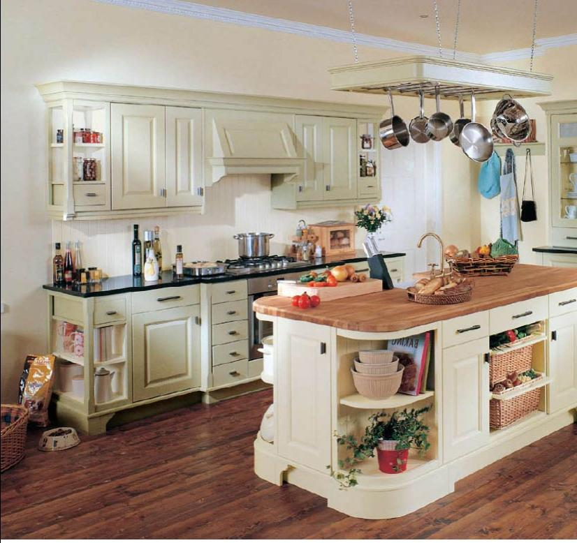 Small country kitchens photos for Country kitchen designs layouts