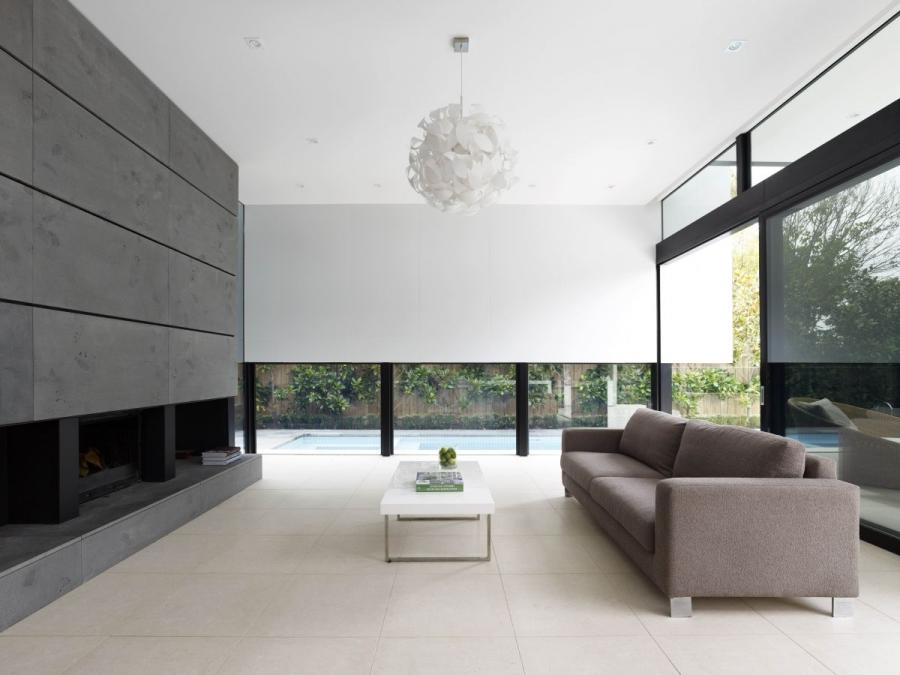 Good Residence House Interior Living Room Design. «