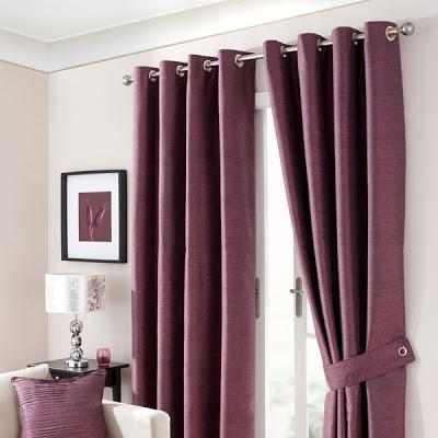 This Waters and Noble Aubergine Opal Curtain Collection is the...