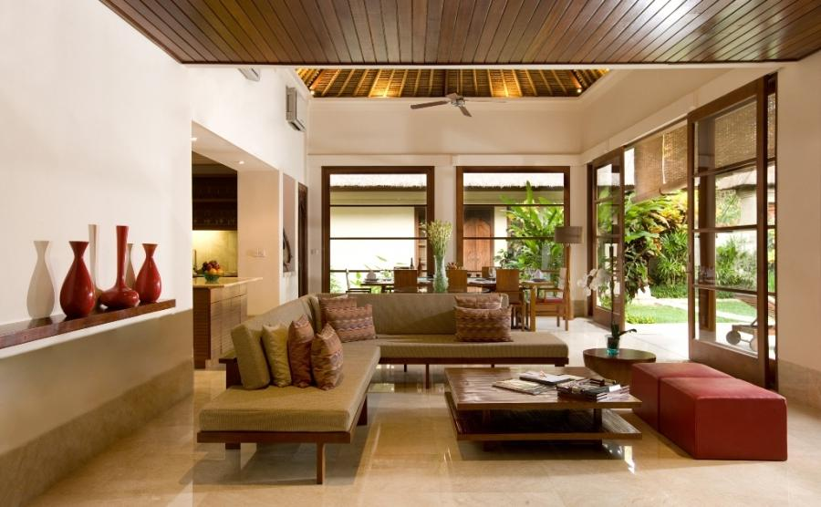 Rustic Balinese Living Rooms With Tropical Air New Home Design