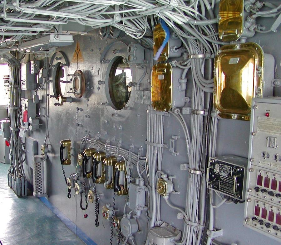 interior photos of battleships