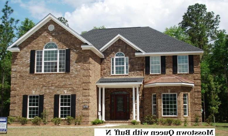 Brick and stone combinations photos for Brick homes with stone accents