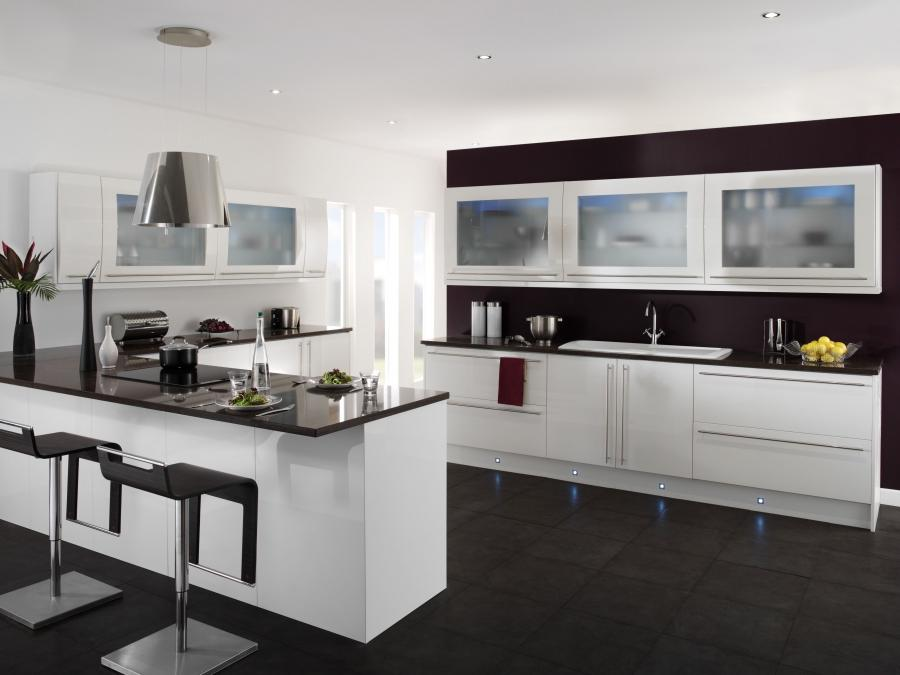 Kitchen-design : Tips To Increase The Colour In The Black And...