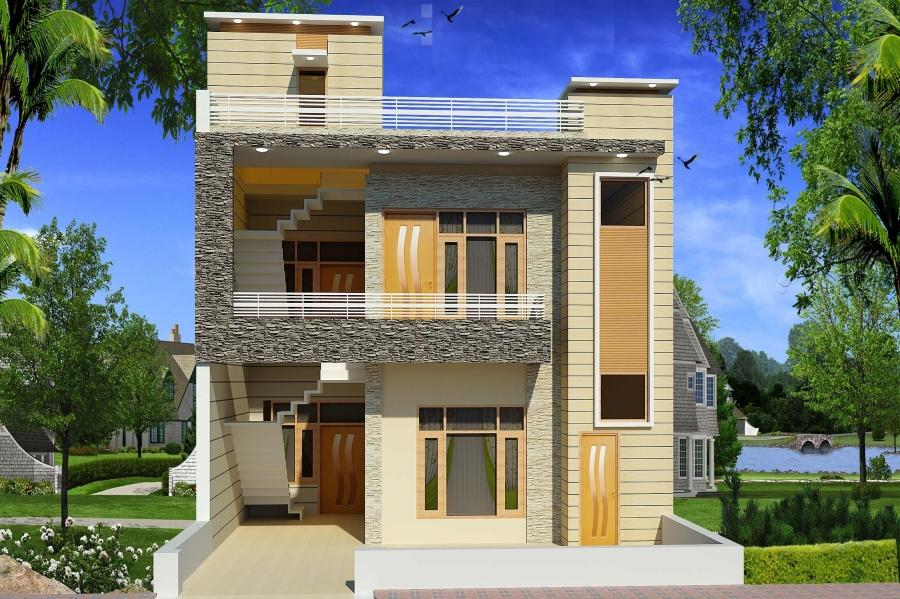 Elevations houses photos