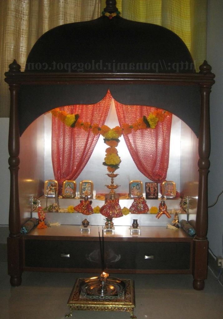 Pooja room interior design photos for Pooja room interior designs