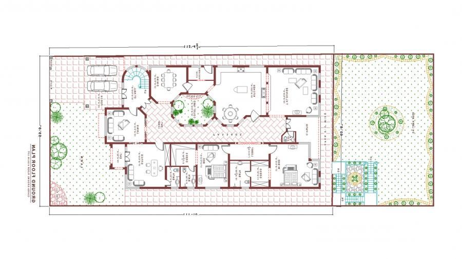 Pakistan house plans photos for Pakistani house floor plans