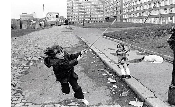 ... 1977 Outside Divis Flats in West Belfast by Chris...