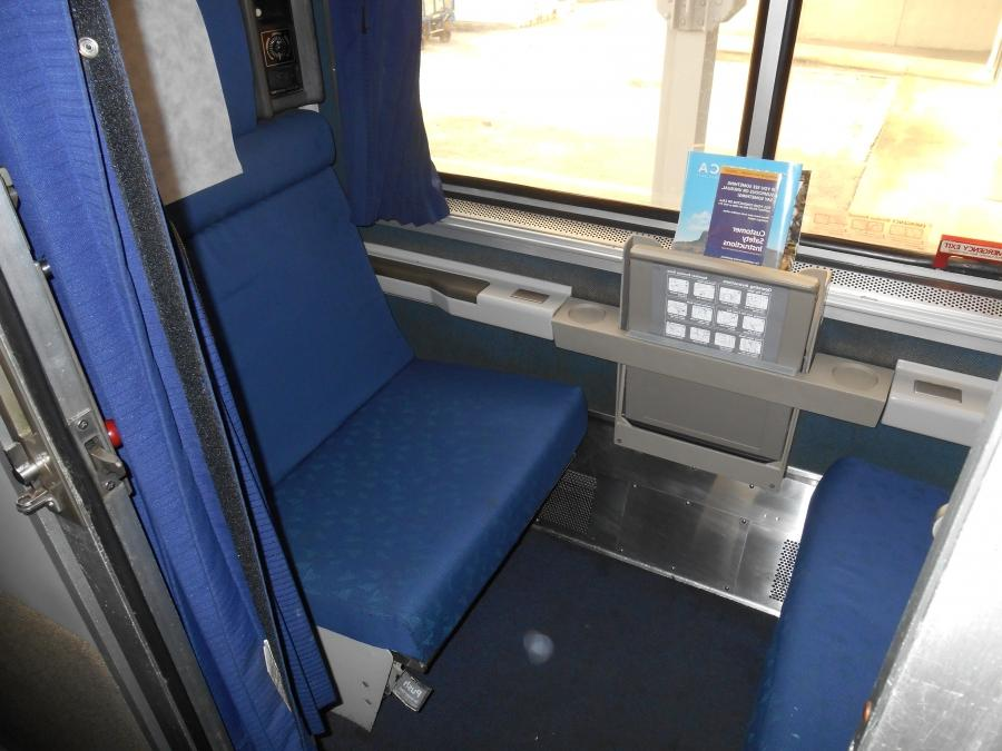 Amtrak Superliner Roomette Photos