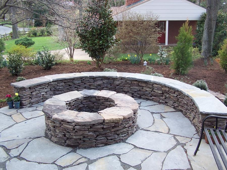 Although stacked field stone is the most common choice, we also...